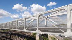 Hausbergen Footbridge / Wienstroer Architekten Stadtplaner