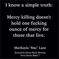 "MacKayla ""Mac"" Lane (Burned by Karen Marie Moning ~ Fever Series Book 7)"