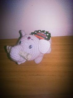 Elefantito de la suerte.