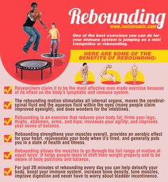Rebounding For Detoxification And Immune System Benefits http://www.ionizeroasis.com/rebounding/