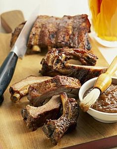 This is a good, basic method for making barbecue ribs. If you are just starting out, or looking for something simple, this recipe is the one for you.