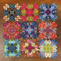 Posts about Lucy Boston paper piecing written by louisaenright English Paper Piecing, Paper Piecing Patterns, Quilt Patterns, Quilting Projects, Quilting Designs, Quilting Tutorials, Quilting Templates, Diy Projects, Millefiori Quilts