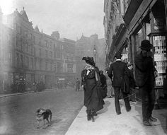 Grafton Street. Dublin. 1890. (national library of Ireland)