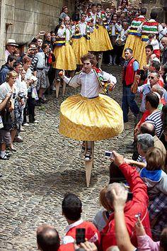 Danza de los Zancos, Anguiano, La Rioja