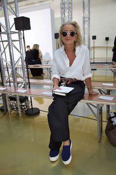 Fab glasses Lucinda Chambers. Fashion over 40