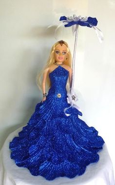 Resultado de imagem para barbie vestido con goma eva