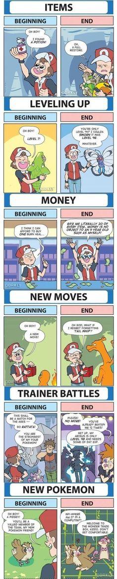 Pokemon The Beginning Vs The End