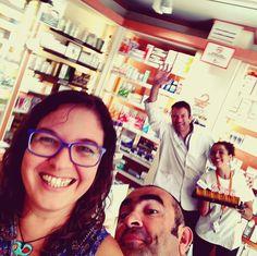 Con #Farmacia Heliche, Olivares Round Glass, Pharmacy