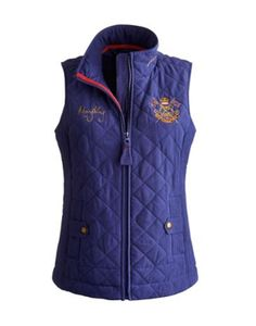 Joules Womens Quilted Gilet Indigo We Are Proud To Have Teamed Up With Mary