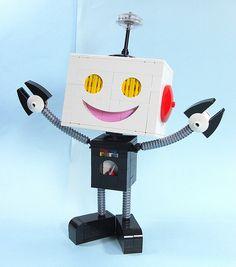happy happy robot arms