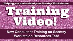IF you are a new Scentsy consultant the Resources tab in the workstation is going to be a very useful tool for you. I am going to share with you a few tips that may help you get familiar with this tab.