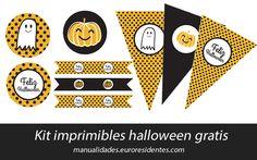 kit imprimibles Halloween