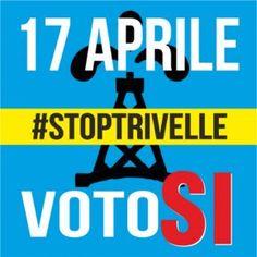 """daniela mazza su Twitter: """"Anche noi abbiamo il nostro bel """"comitatino"""" 17 Aprile votiamo SI per dire NO alle trivelle…"""