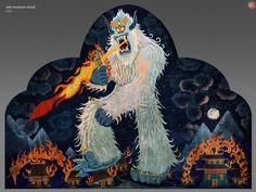 ArtStation - Smallfoot - Location Design - The Yeti Museum, jason scheier Religion, Lion Sculpture, Museum, Concept, Statue, Online Portfolio, Artwork, Artist, Painting