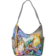Anuschka Classic Shoulder Bag, Cats In Wonderland, One Size Anuschka http://www.amazon.com/dp/B00M0NZ5QO/ref=cm_sw_r_pi_dp_XAX4ub0FND62B