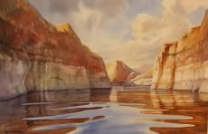 Peaceful Canyon Lake Powell
