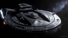 Star Trek: Titan - USS TITAN Test Footage