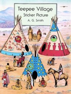 Native American Indian Paper Crafts / Craft Kits