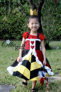 Queen of Hearts from Ollie Girl
