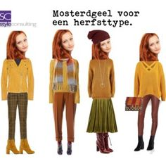 A fashion look from October 2017 featuring yellow sweater, brown top and merino wool sweater. Browse and shop related looks. Fall Wardrobe, Capsule Wardrobe, Mustard Yellow Outfit, Yellow Outfits, Warm Fall Outfits, Color Type, Warm Autumn, Deep Autumn, Autumn Street Style