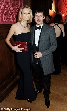 James Blunt and wife Sofia Wellesley, Lady Charlotte¿s cousin, are expected to attend