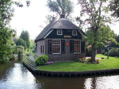 Giethoorn, Netherland. This village is the cutest village ever.