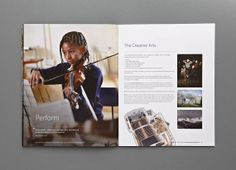 Putney High School Prospectus- The creative arts - Carr Kamasa Design - London