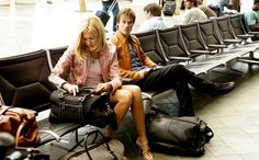Lost - Ian Somerhalder in season six with on-screen stepsister played by Ms Maggie Grace