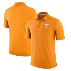 Tennessee Volunteers Nike Two-Tone 2017 Team Issue Performance Polo - Tennessee Orange