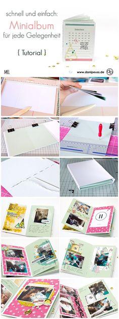Schnell und einfach - Minialbum für jede Gelegenheit von Mel für www.danipeuss.de #danipeuss #Weihnachtsmini