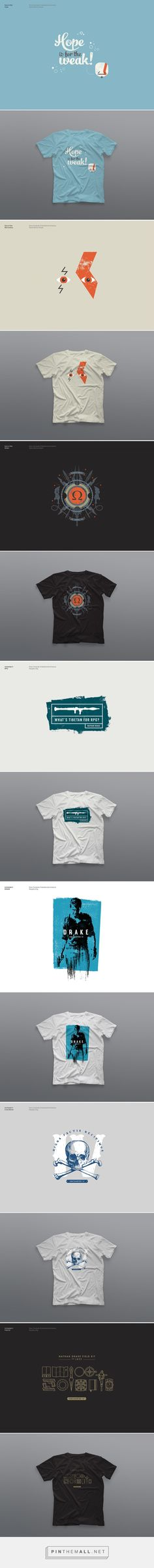 Limited Edition T-Shirts for Sony PlayStation by Alex Townsend