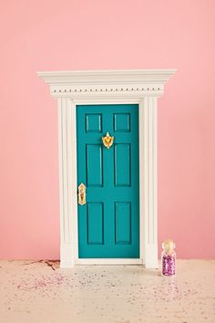 A Tooth Fairy Door is a great alternative to placing lost teeth under a pillow. This offers the Tooth Fairy a private entrance from Fairyland to your child's room. Specially designed to only open in, towards Fairyland (only Fairy's can fit through the door duh)  Best placed by a nightstand so the fairy dust and tooth can be set beside it. This way when the tooth fairy comes out of the door all she has to do is pick up the tooth, leave a gift, and sprinkle her fairy dust over the sleeping…