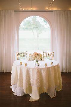 sweetheart table   Sam Stroud #wedding