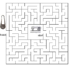 Matthew 7 Plan of Salvation Bible Mazes: Drawing off the