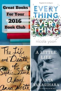 Suggestions for titles to get you through 12 months of book clubs in 2016