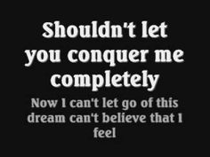 Evanescence - Good Enough Lyrics This is one song that really gives me hope for some reason...