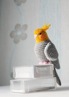 http://etsy.me/2lEld2H Amigurumi ParrotPlush Toy BirdCrochet ParrotToy Gift by TNGiftsUA