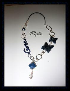 S4(12) (2012) Sautoir personnalisable bleu metal