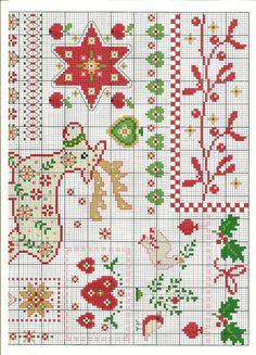 Christmas cross stitch patterns. 2 of 2. Gallery.ru / Фото #3 - Kreativ - Auroraten