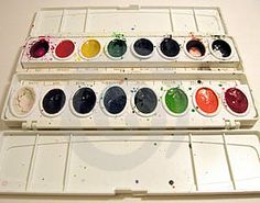 Watercolor and cancer healing...but remember, working with a professional art therapist is also part of the effect.