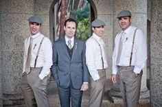 1920's | Gatsby Glam | Art Deco | Wedding | Vintage | Old Hollywood | Wedding Decor & Design | Groom & Groomsmen