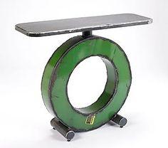 Big O Console Table: Ben Gatski: Metal Console Table | Artful Home