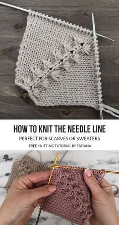 Baby Knitting Patterns, Knitting Designs, Crochet Patterns, Knitting Tutorials, Cowl Patterns, Knitting Ideas, Knitting Projects, Stitch Patterns, Knitting Help