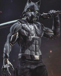 Fantasy Wolf, Fantasy Armor, Star Wars Clone Wars, Star Wars Art, Fantasy Character Design, Character Design Inspiration, Armor Concept, Concept Art, Future Batman