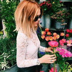 "Caroline Receveur on Instagram: ""Didn't find my Peonies today """