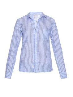 Frank & Eileen Barry striped linen shirt