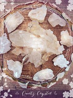 Crystal Quartz ~ Amethyst and the Moon