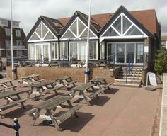 Fish and chips overlooking the sea - The Hythe Bay Seafood Restaurant, Hythe Traveller Reviews - TripAdvisor