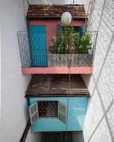 À Saigon, cette maison abrite... plusieurs autres maisons