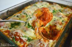 Chicken, Ricotta and Spinach Stuffed Shells   Delish D'Lites